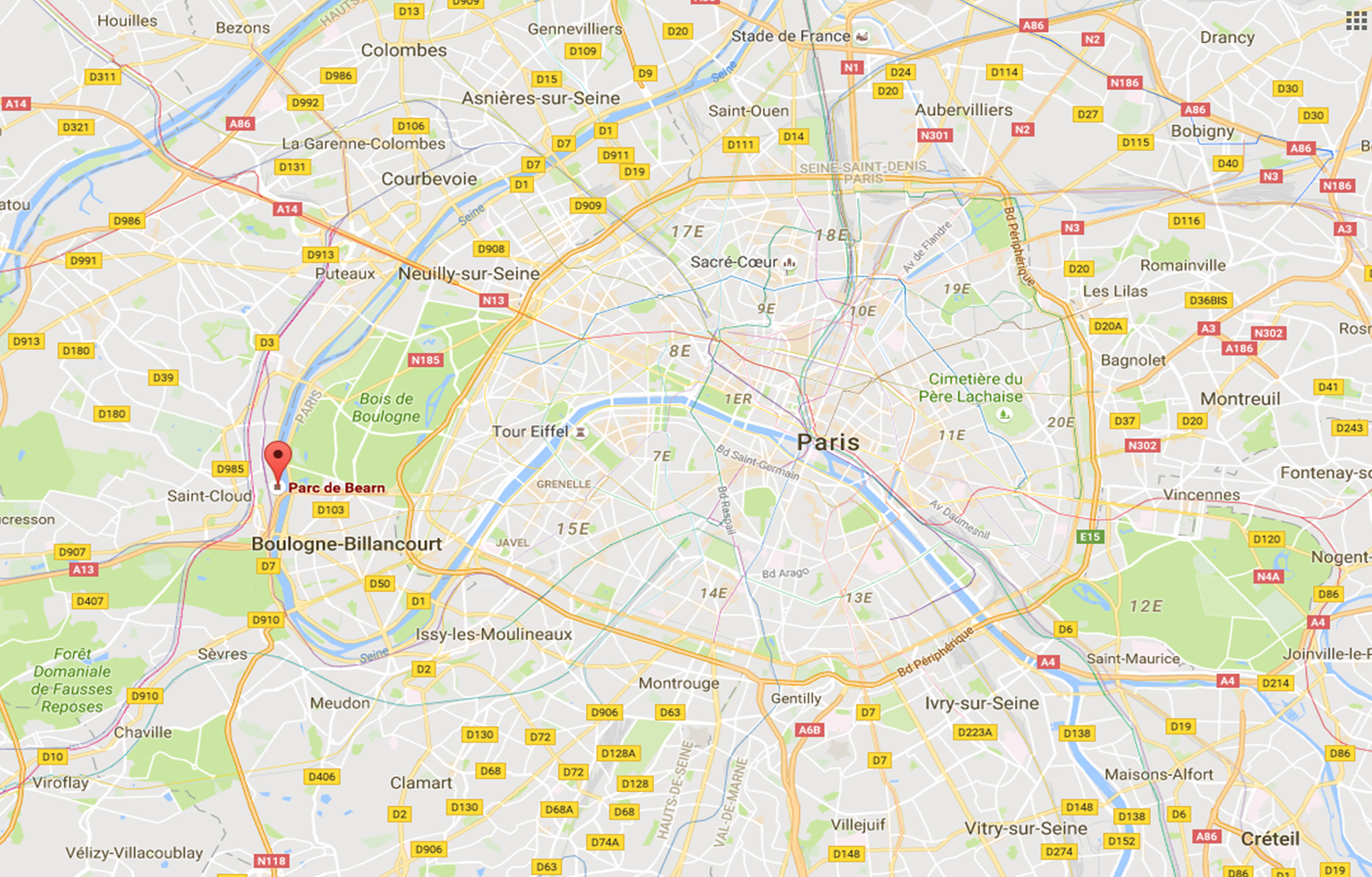 Map-Paris